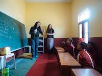 Teaching in India Dharamsala