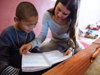 Teaching English volunteer in Dharamsala, India