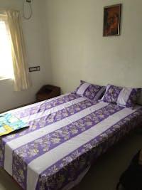 IVHQ typical volunteer bedroom in India Kerala
