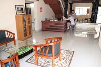 Volunteer house entrance in India Kerala