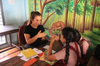 IVHQ volunteer Teaching in India Kerala