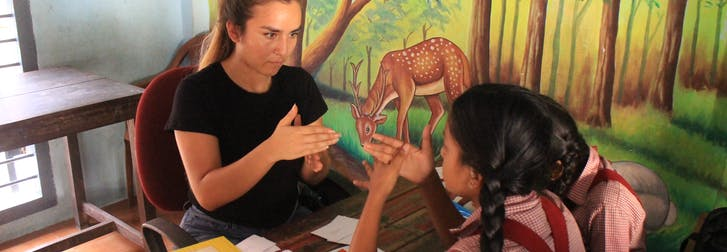 Volunteer abroad as a high school student with IVHQ