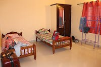 IVHQ typical volunteer bedroom upgrade in India Kerala