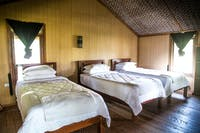 IVHQ Island Conservation accommodation bedroom in Indonesia