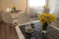 Volunteer Dining Room in Italy with IVHQ