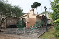 Volunteer outdoor social space in Italy with IVHQ