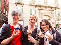 IVHQ volunteers enjoy Gelato in Italy during an IVHQ weekend