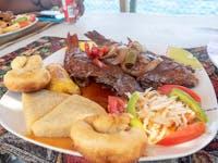 IVHQ Jamaica chicken dinner