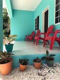 IVHQ Jamaica volunteer outdoor area