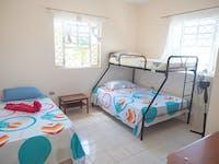 IVHQ Jamaica volunteer house bedroom
