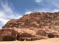 Exploring the Petra during an IVHQ weekend