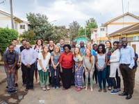 IVHQ Group of volunteers in Kenya