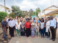 IVHQ Group of volunteers in Kenya