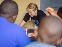 Women's Education volunteer in Kenya with IVHQ