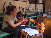 IVHQ Special Needs volunteer in Kenya with IVHQ