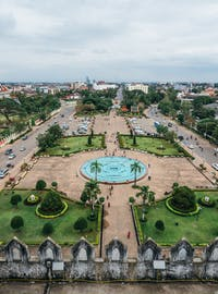 IVHQ volunteers visit Vientiane, Laos during the weekend