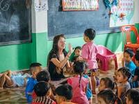 IVHQ volunteer in Childcare in Laos