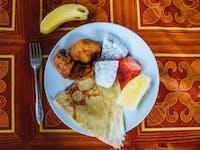 Volunteer Breakfast in Laos with IVHQ