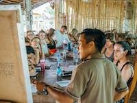 IVHQ volunteer language lesson in Laos