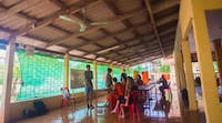 A classroom in Laos with IVHQ