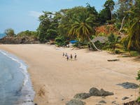 Explore Nosy Komba beaches during an IVHQ weekend