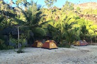 IVHQ Madagascar Island Outreach tent accommodation