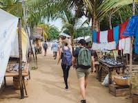 Nosy Komba markets during an IVHQ weekend