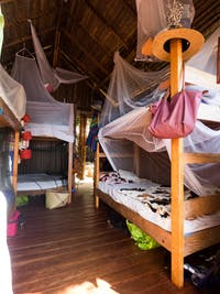 Typical IVHQ Madagascar bedroom
