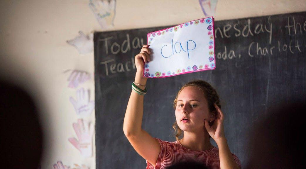 Teaching in Madagascar