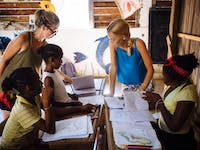 Teaching volunteer in Madagascar with IVHQ