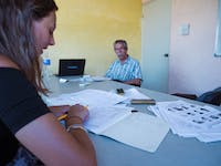 IVHQ volunteer Spanish class in Mexico