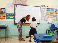 Volunteer English teacher with IVHQ in Mexico