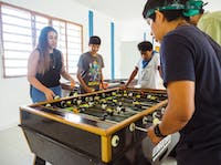 IVHQ Teaching volunteer games in Mexico