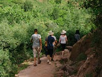 Exploring the Atlas Mountains with IVHQ during a weekend