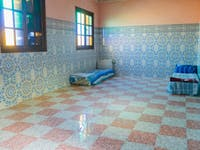 Marrakech volunteer bedroom with IVHQ