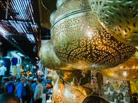Explore Marrakech Market Stalls during a weekend with IVHQ