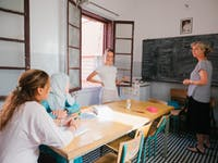Volunteer in Marrakech teaching English