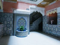 Marrakech homestay exterior with IVHQ