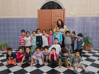 Childcare volunteer in Morocco with IVHQ