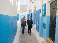 IVHQ volunteers enjoy the streets of Morocco
