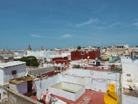 View from volunteer homestay in Morocco with IVHQ