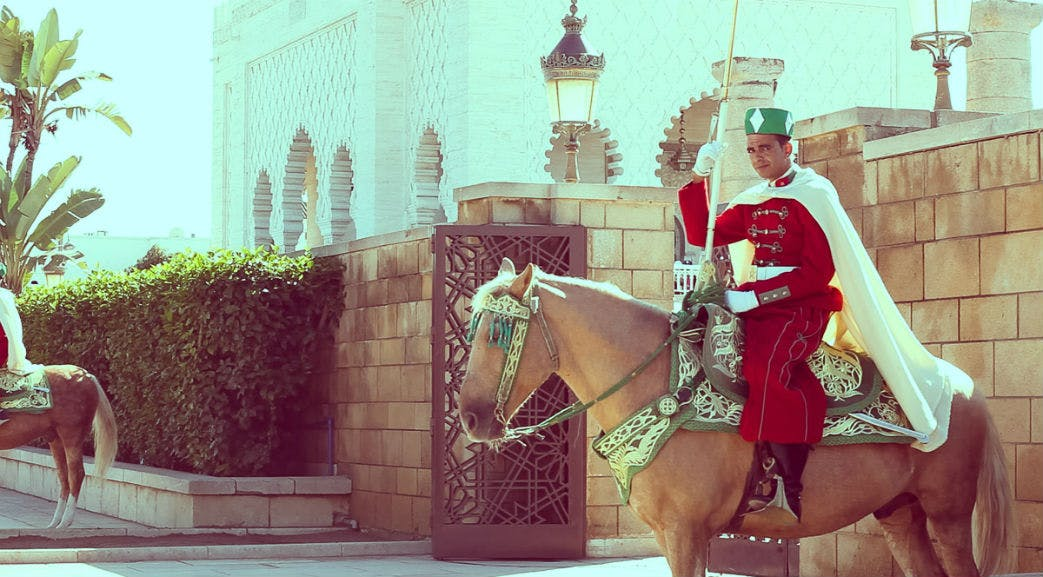 A local guard in Morocco