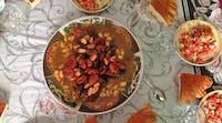 Volunteer meals in Morocco
