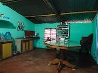 Chitwan Nepal volunteer dining room