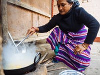 Chitwan Nepal host cooking