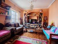 Kathmandu Nepal volunteer homestay living room