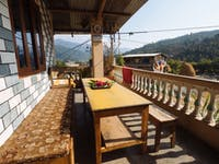Pohkara Nepal volunteer house view