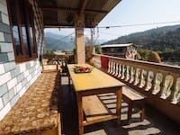 Pohkara Nepal volunteer house view