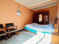 Kathmandu Nepal volunteer homestay bedroom