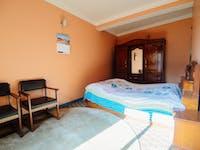Kathmandu Nepal volunteer homestay bedroom